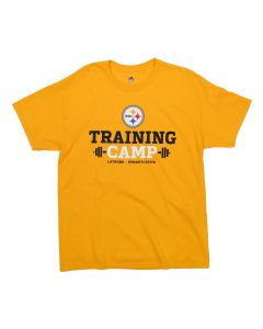 Pittsburgh Steelers Training Camp Short Sleeve Barbell Tee - Extended Sizes