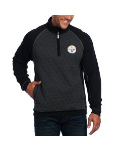 Pittsburgh Steelers Tommy Bahama Gridiron 1/4 Zip Fleece