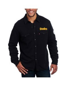 Pittsburgh Steelers Levi's NFL Fleece Western Button Down