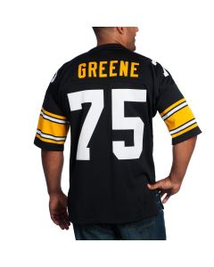 Joe Greene #75 Men's Mitchell & Ness Authentic Home Jersey