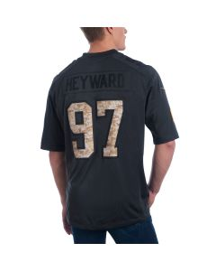 Cam Heyward #97 Men's Nike Limited Salute to Service Jersey