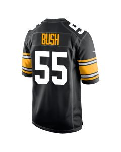 Devin Bush #55 Men's Nike Replica Throwback Jersey