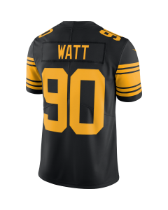TJ Watt #90 Men's Nike Limited Color Rush Jersey
