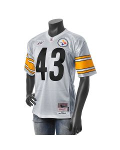 Troy Polamalu #43 Mitchell & Ness Limited Platinum 100 Year Jersey