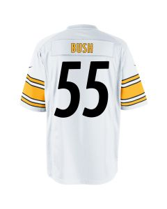 Devin Bush #55 Men's Nike Replica Away Jersey