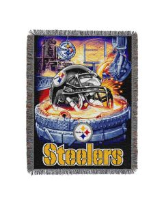 Pittsburgh Steelers Home Field Advantage Woven Tapestry