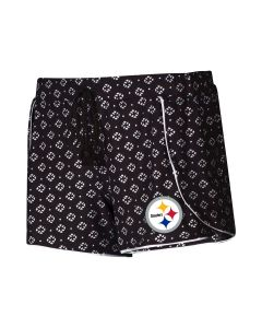 Pittsburgh Steelers Women's Cloud Seven Dolphin Short