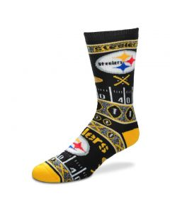 Pittsburgh Steelers Men's Super Fan Socks