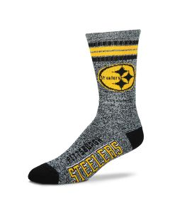 Pittsburgh Steelers Men's Got Marbled Socks
