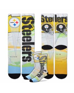 Pittsburgh Steelers Roadmap Socks