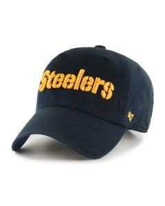 Pittsburgh Steelers '47 Stencil Logo CLEAN UP Cap