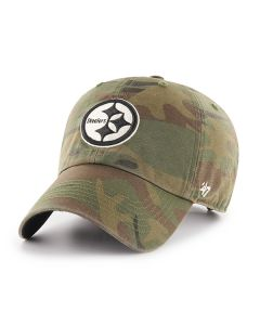 Pittsburgh Steelers '47 CLEAN UP Sandalwood Regiment Hat