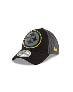 Pittsburgh Steelers New Era 39THIRTY Megaflect Cap