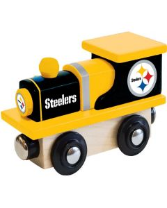 Pittsburgh Steelers Wooden Train Engine