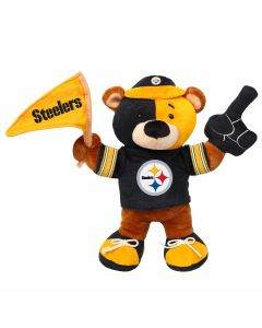 Pittsburgh Steelers Fan Bear Plush Doll