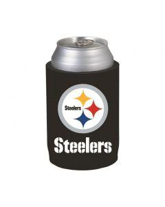 Pittsburgh Steelers Black Foam Can Coolie