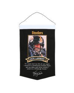 Pittsburgh Steelers Jack Lambert Quote Banner