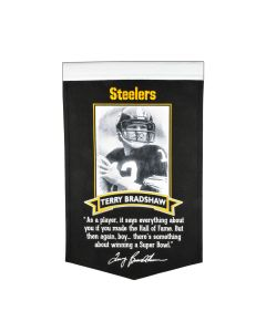Pittsburgh Steelers Terry Bradshaw Quote Banner
