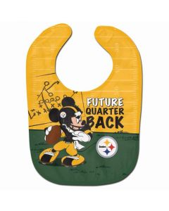 Pittsburgh Steelers Steel City Mickey Baby Bib