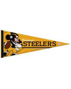 Pittsburgh Steelers Steel City Mickey Pennant