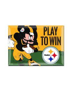 Pittsburgh Steelers Steel City Mickey Magnet
