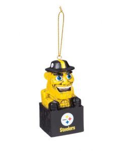 Pittsburgh Steelers Steely McBeam Tiki Ornament