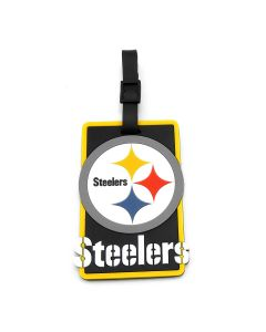 Pittsburgh Steelers Logo Soft Luggage Tag