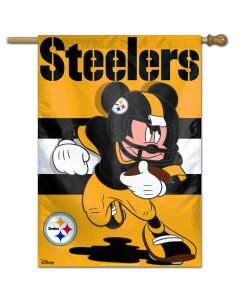 Pittsburgh Steelers Steel City Mickey 28x40 Banner