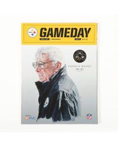 Pittsburgh Steelers DMR Tribute Gameday Program