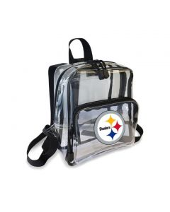 Pittsburgh Steelers Mini Clear Backpack