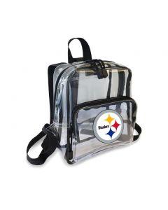 Pittsburgh Steelers Mini Clear Backpack