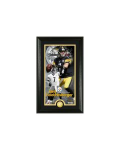 Pittsburgh Steelers 12x20 Framed #7 Ben Roethlisberger Supreme Photomint