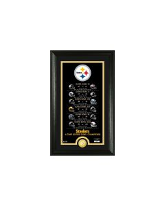Pittsburgh Steelers Framed 12x20 Legacy Photo Mint 6X Super Bowl Champs