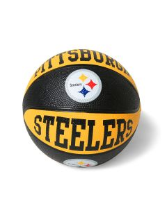 "Pittsburgh Steelers Big Logo 7"" Mini Basketball"