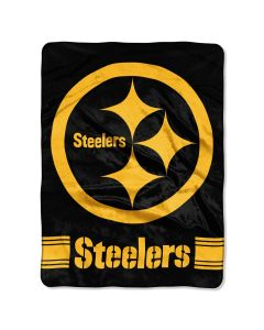 Pittsburgh Steelers 60x80 in. Color Rush Blanket