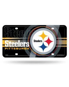 Pittsburgh Steelers Circle Logo Design License Plate