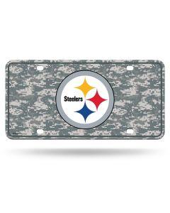 Pittsburgh Steelers Digi Logo License Plate