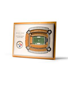 Pittsburgh Steelers Stadium View 3D Wall Art