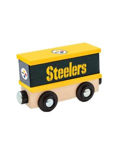 Pittsburgh Steelers Wooden Box Car
