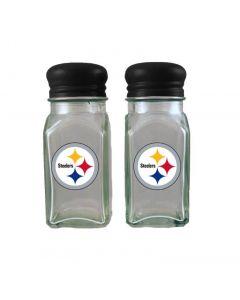 Pittsburgh Steelers Glass Salt & Pepper Shakers