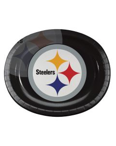 Pittsburgh Steelers Oval Paper Platter