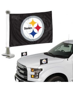 Pittsburgh Steelers Team Ambassador Flag - 2 Pc Set