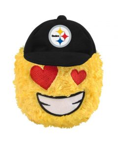 Pittsburgh Steelers Heart Eyes Teamoji Plush Ball