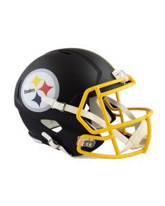 Pittsburgh Steelers Replica Matte Black Helmet