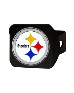 Pittsburgh Steelers Full Color Logo Hitch Cover