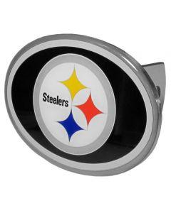 Pittsburgh Steelers Metal Oval Class II and III Hitch Cover