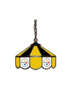Pittsburgh Steelers 14-inch Stained Glass Pub Light