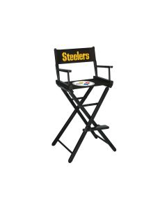 Pittsburgh Steelers Bar Height Director's Chair