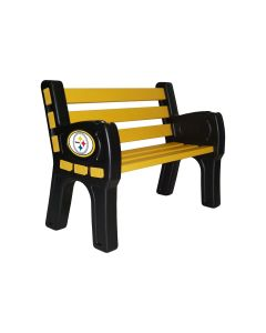 Pittsburgh Steelers Outdoor Park Bench