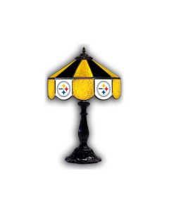 "Pittsburgh Steelers 21"" Glass Table Lamp"